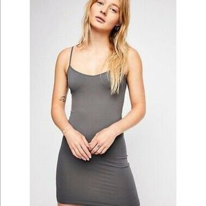 NWT Free People Seamless Mini Slip Dress